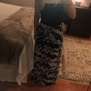 target Dresses - Strapless maxi dress
